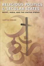 Religious Politics and Secular States – Egypt, India and the United States