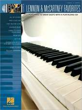 Lennon & McCartney Favorites:  Piano Duet Play-Along Volume 38