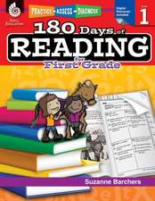 180 Days of Reading for First Grade (Level 1):  Practice, Assess, Diagnose