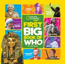 National Geographic Little Kids First Big Book of Who:  True Stories of Adventures with Animals