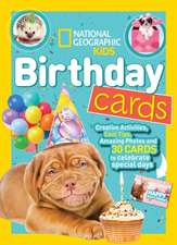 National Geographic Kids Birthday Cards