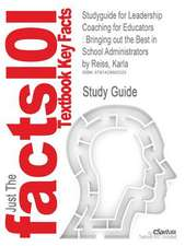 Studyguide for Leadership Coaching for Educators