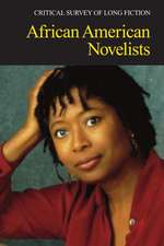 African American Novelists