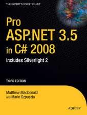 Pro ASP.Net 3.5 in C? 2008