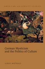 German Mysticism and the Politics of Culture