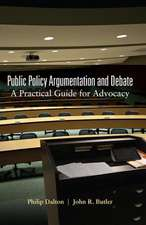 Public Policy Argumentation and Debate