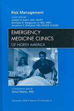 Risk Management, An Issue of Emergency Medicine Clinics