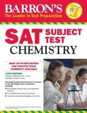 Barron's SAT Subject Test Chemistry