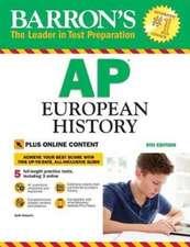 Barron's AP European History, 9th Edition: With Bonus Online Tests
