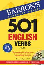 501 English Verbs [With CDROM]:  With Audio CDs