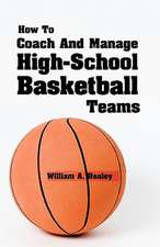 How to Coach and Manage High School Basketball Teams