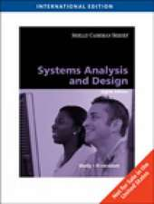 Shelly, G: Systems Analysis and Design
