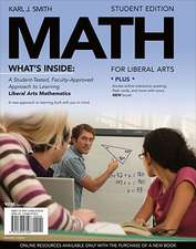 Math for Liberal Arts (with Arts Coursemate with eBook Printed Access Card) [With Access Code]