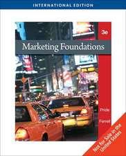Marketing Foundations, International Edition