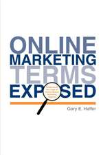 Online Marketing Terms Exposed