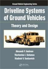 Driveline Systems of Ground Vehicles:  Theory and Design