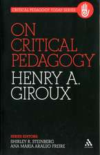 On Critical Pedagogy