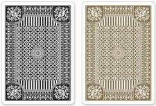 Black and Gold Premium Playing Cards, Two Standard Decks