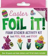 Easter Foil It! Foam Sticker Activity Kit