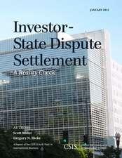 Investor-State Dispute Settlement
