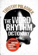The Word Rhythm Dictionary