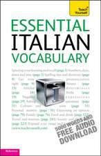 Essential Italian Vocabulary: Teach Yourself