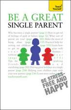 Hayman, S: Be a Great Single Parent: Teach Yourself
