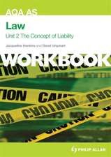 AQA AS Law: the Concept of Liability: Criminal Liability and Tort