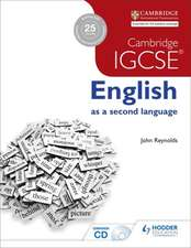 Cambridge Igcse English as a Second Language 2nd Edition + CD