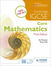 IGCSE CORE MATHEMATICS 3ED + C