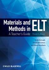 Materials and Methods in ELT: A Teacher′s Guide
