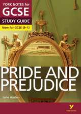 Pascoe, P: Pride and Prejudice: York Notes for GCSE (9-1)