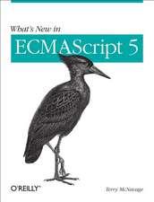 What's New in ECMAScript 5