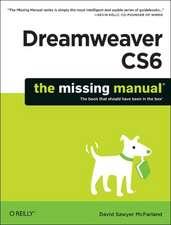 Dreamweaver CS6 – The Missing Manual
