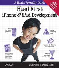 Head First iPhone and iPad Development 3ed