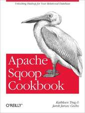 Apache Sqoop Cookbook