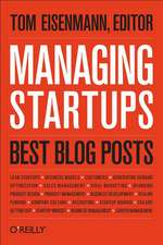 Managing Startups – Best Blog Posts
