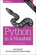 Python in a Nutshell, 3e