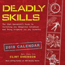 Deadly Skills 2019 Wall Calendar