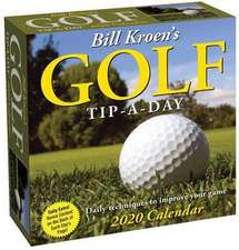 BILL KROENS GOLF TIPADAY 2020 CALENDAR