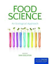 Food Science, an Ecological Approach:  A First Course with Applications
