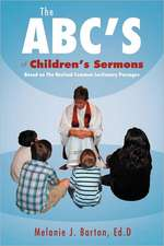 The ABC's of Children's Sermons