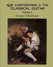 New Compositions for the Classical Guitar:  The O'Meara Process at Work