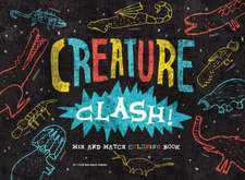Creature Clash! Mix and Match Coloring Book:  Paintings of Contemporary Artists