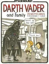 Darth Vader and Family Notecards [With 20 Envelopes]:  Lessons on Life from Doers, Creators, and Cultural Rebels