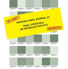 Pantone Chips Journal:  Earth Tones