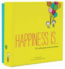Happiness Is . . . 20 Notecards and Envelopes:  A Book of Shapes