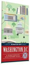 City Scratch-Off Map:  A Sightseeing Scavenger Hunt