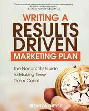 Writing a Results-Driven Marketing Plan