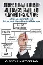 Entrepreneurial Leadership and Financial Stability in Nonprofit Organizations